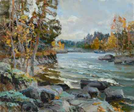 Autumn on Valaam