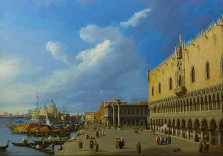 Canaletto. View Of The Ducal Palace